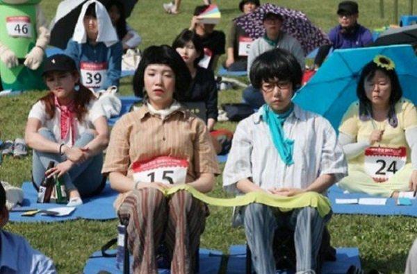 (تصاویر)مسابقه ترک اعتیاد به اینترنت در کره