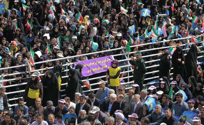 (تصاویر) استقبال از روحانی در ارومیه