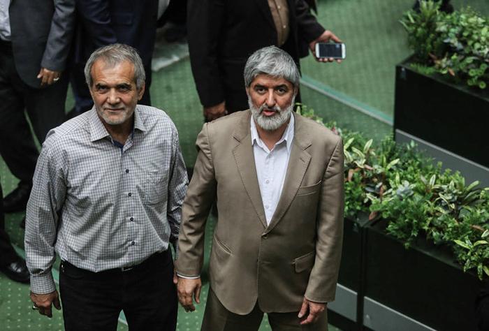 (تصاویر) انتخاب هیات رئیسه دائم مجلس