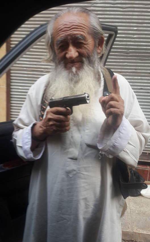 (تصویر)مرد چینی، پیرترین عضو داعش