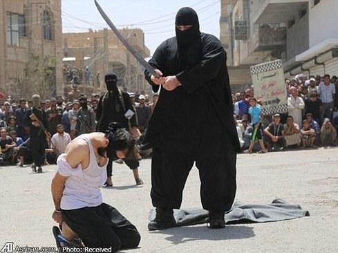 عکس داعش جلاد داعش اعدام داعش اخبار داعش