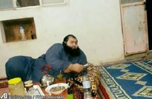 (تصاویر) دستگیری جلاد 130 کیلویی داعش