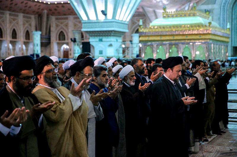 (تصاویر) سخنرانی روحانی در سالگرد ارتحال امام (ره)