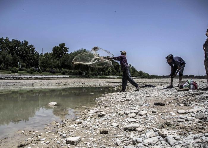(تصاویر) زاینده رود دوباره خشکید