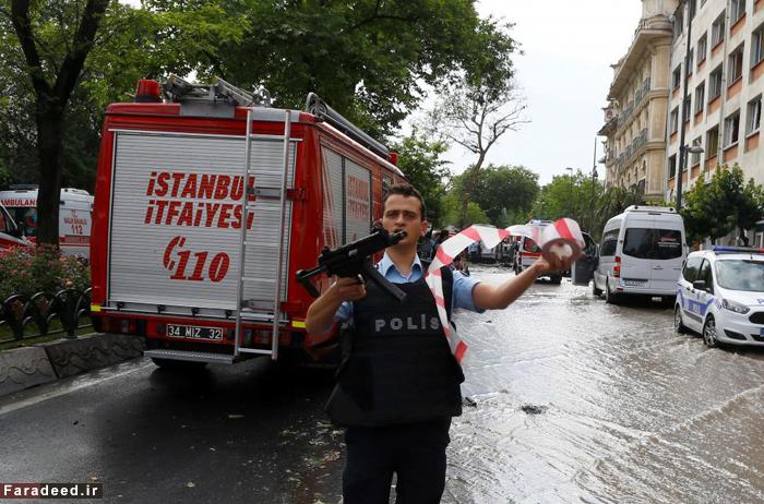 (تصاویر) انفجار تروریستی در استانبول