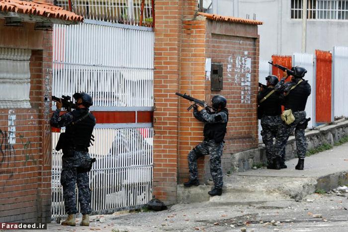 (تصاویر) شورش مردم گرسنه در ونزوئلا