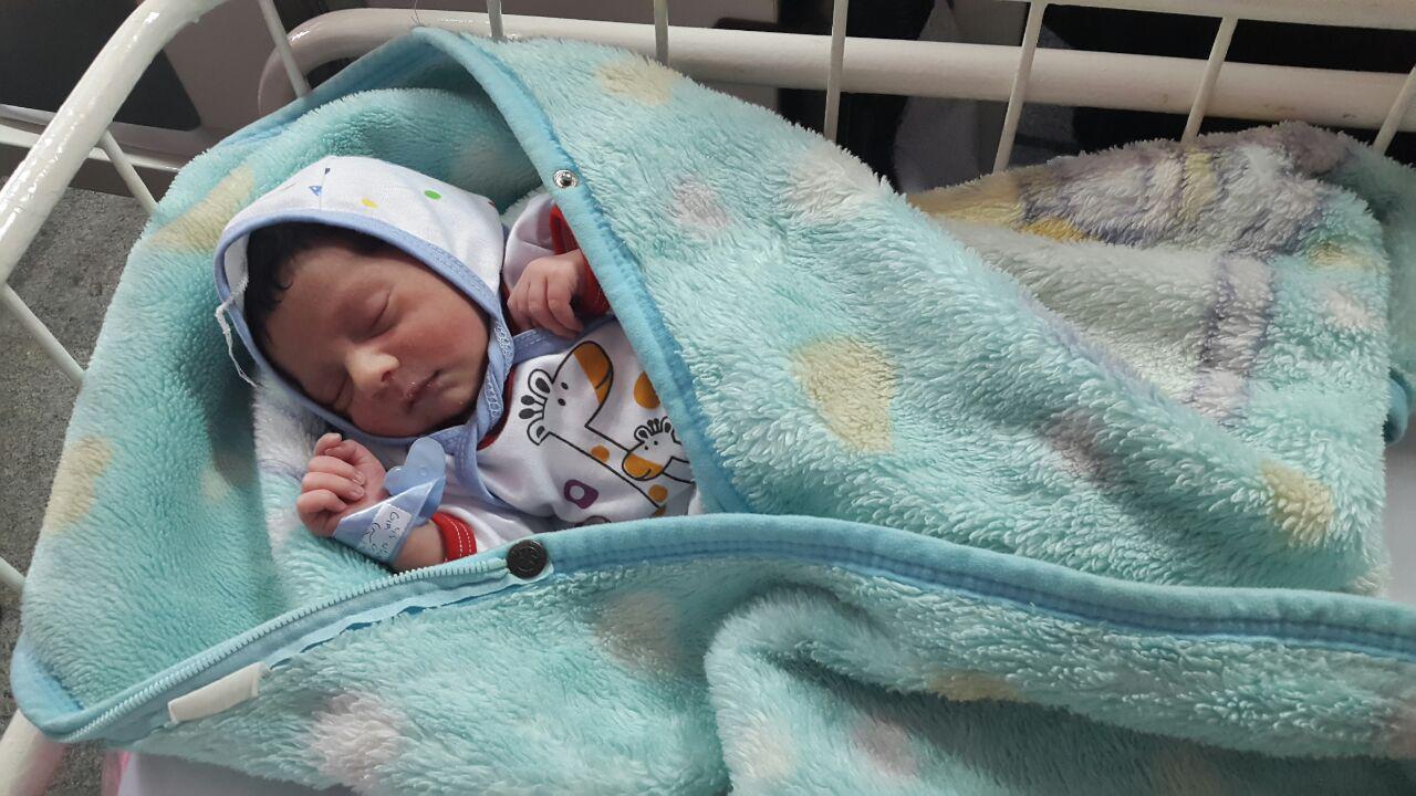 اولین نوزاد طرح «برکت خانواده» در استان مازندران متولد شد