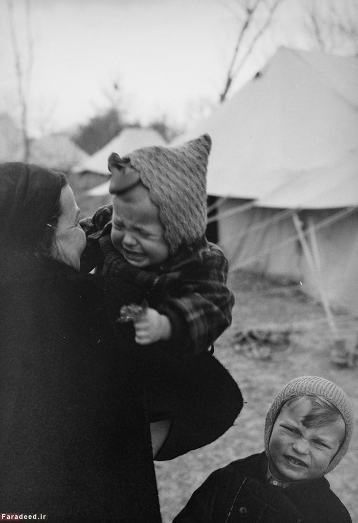 (تصاویر) آورگان جنگ جهانی دوم در ایران