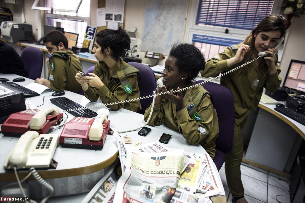 (تصاویر) خدمت دختران در ارتش اسرائیل