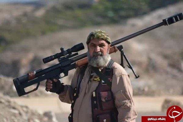 (تصویر) تیراندازی که فقط داعشی شکار می کند