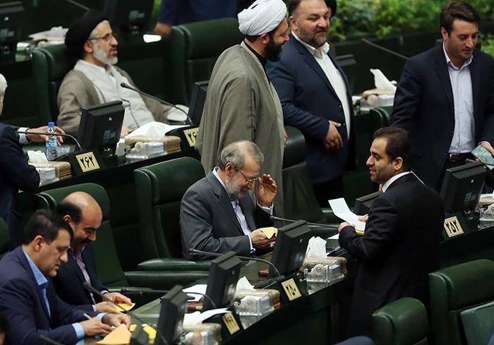(تصاویر) انتخاب هیات رئیسه مجلس دهم