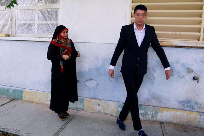(تصاویر) عقدکنان یک اعدامی در زندان