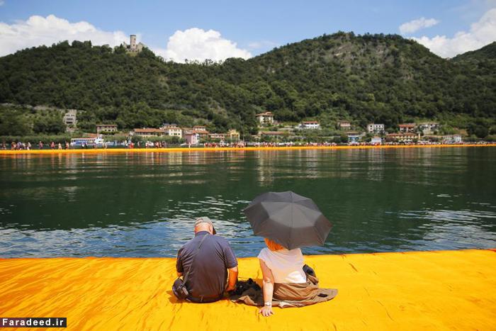 (تصاویر) تجربه قدم زدن روی آب