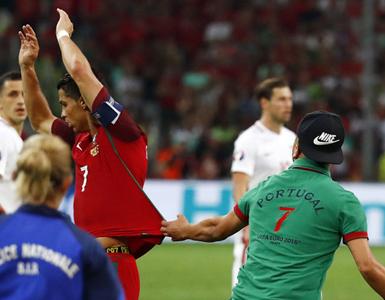 (تصاویر) پرتغال به نیمه نهایی یورو رسید