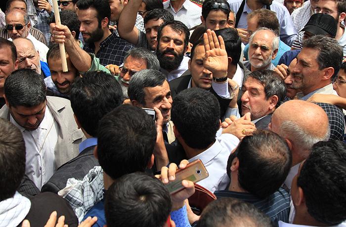 (تصاویر) مقامات در راهپیمایی روز قدس