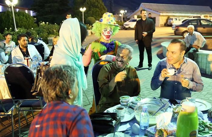 (تصاویر) چهرهها در افطاری لیلا بلوکات