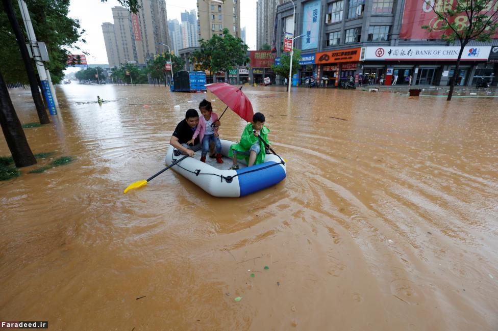 (تصاویر) سیل مرگبار در چین