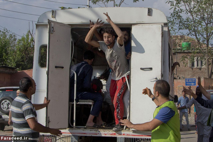 (تصاویر) شورش مرگبار در کشمیر