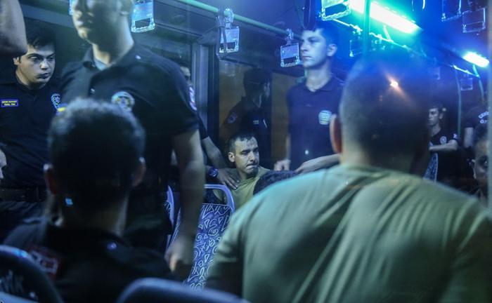(تصاویر) دستگیری متهمان کودتا در ترکیه