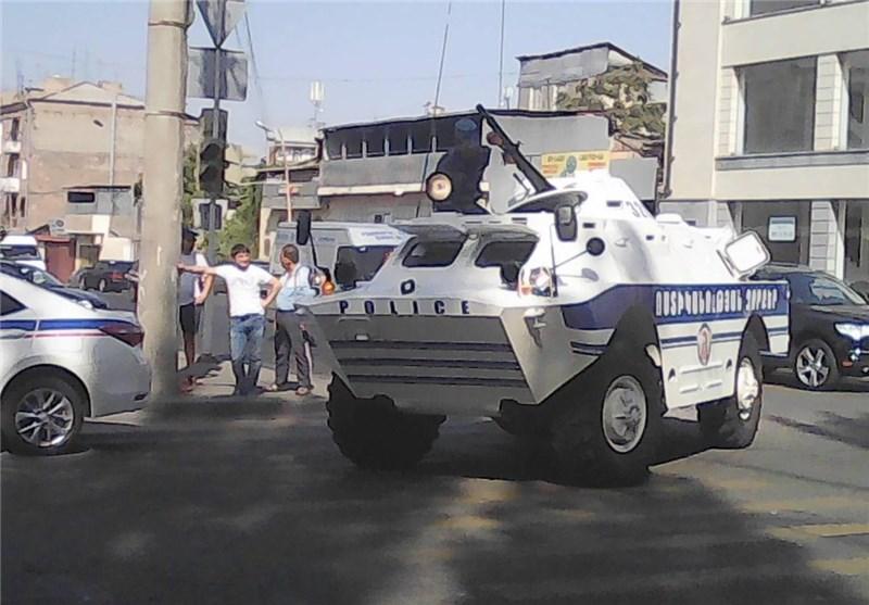 ناآرامی در پایتخت ارمنستان