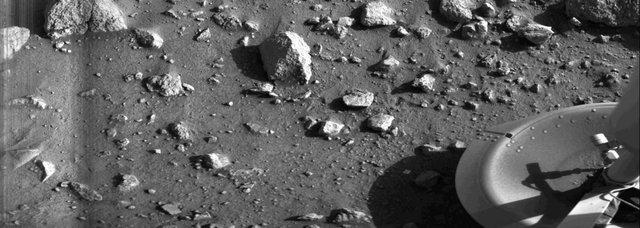 نخستین تصویر از مریخ را ببینید