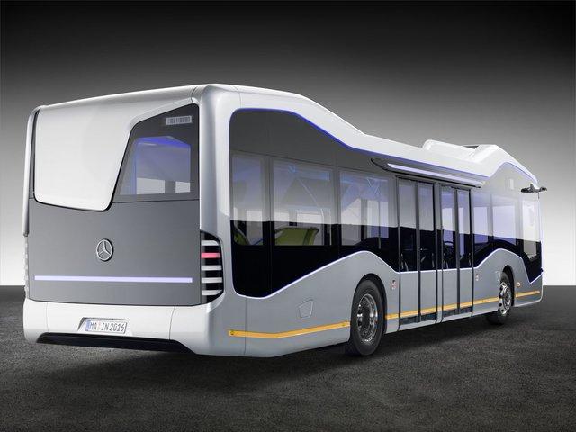 (تصاویر)مرسدس اتوبوس خودران ساخت