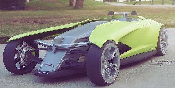 (تصاویر)خودروی عجیبی که می خواهد ساخته شود!