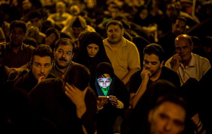 (تصاویر) احیای شب نوزدهم ماه رمضان