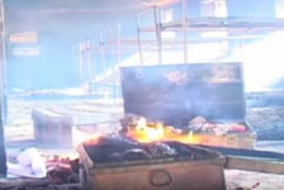 آتش زدن هفت خوابگاه مدرسه به خاطر ممانعت از تماشای فوتبال!