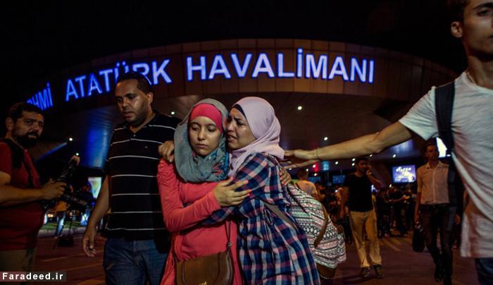 (تصاویر) انفجار در فرودگاه آتاتورک استانبول
