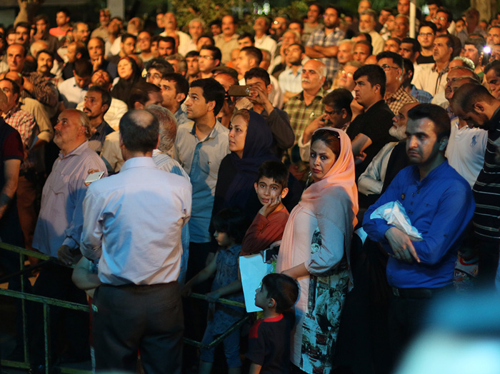 (تصاویر) سخنرانی احمدینژاد در مسجد مسعودیه