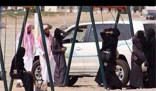 (تصاویر)پوشش متفاوت زنان دربار آلسعود و جامعه عربستان