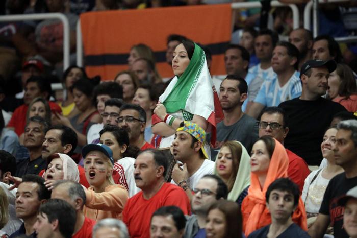 (تصاویر) حواشی دیدار والیبال ایران و آرژانتین