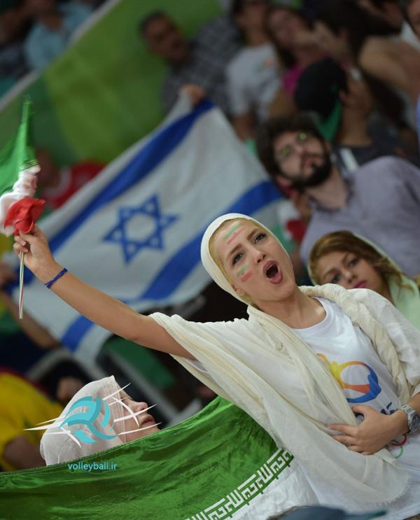 (تصاویر) حواشی دیدار والیبال ایران و لهستان