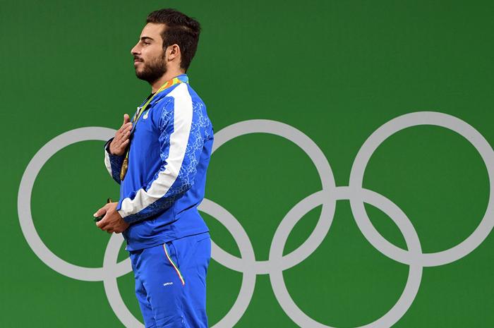 (تصاویر) قهرمانی کیانوش رستمی در المپیک