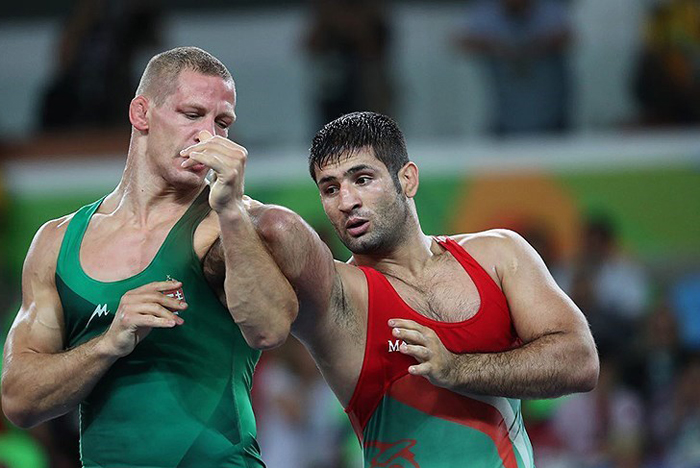 (تصاویر) کسب مدال برنز سعید عبدولی