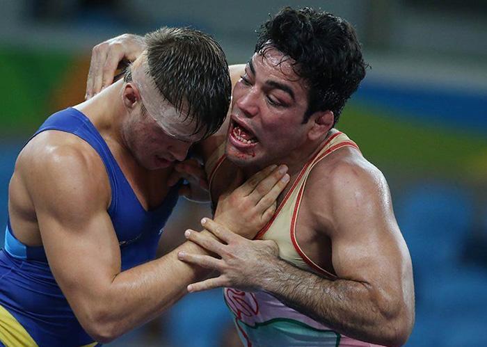 (تصاویر) شکست تلخ حبیب اخلاقی در المپیک