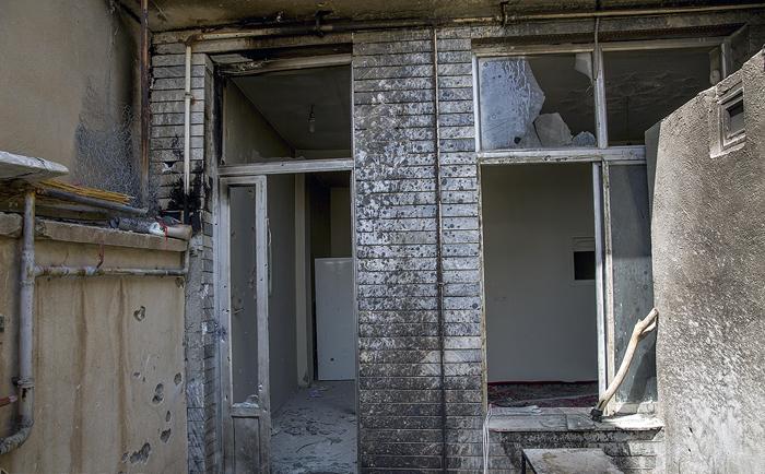(تصاویر) خانه تیمی تروریستها در کرمانشاه