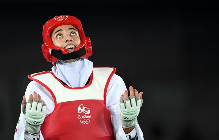 (تصاویر) تاریخسازی کیمیا علیزاده در المپیک