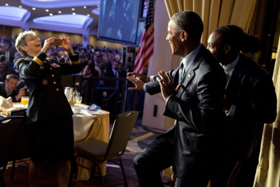 (تصاویر) ماههای پایانی حضور اوباما در کاخسفید