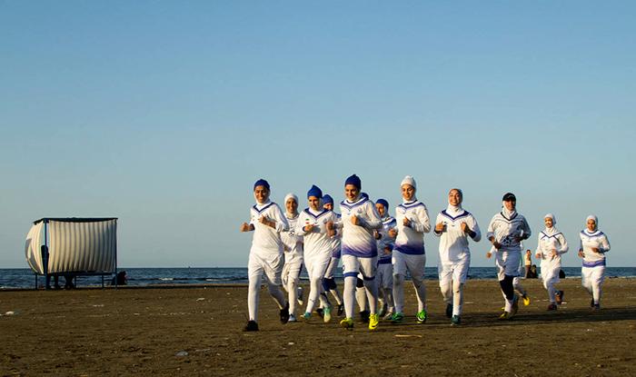 (تصاویر) تمرین تیم منحل شده بانوان ملوان