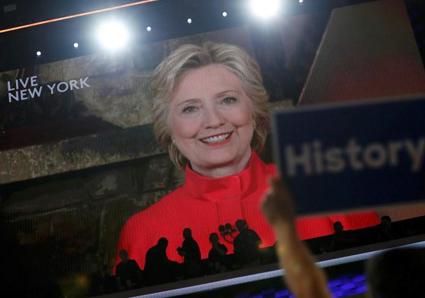 کلینتون رسما نامزد نهایی حزب دموکرات شد