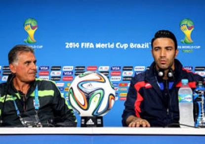 کیروش: نکونام برای تیم ملی مفید خواهد بود