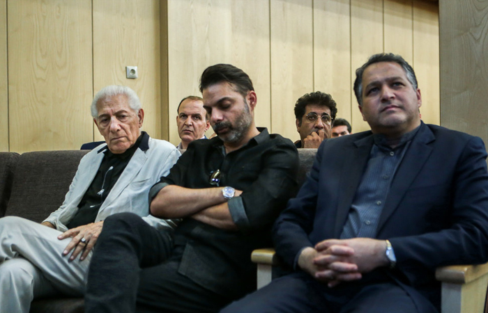 (تصاویر) مجلس ختم داوود رشیدی