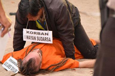 (تصاویر) بازسازی صحنه جنایتِ عشاق قاتل