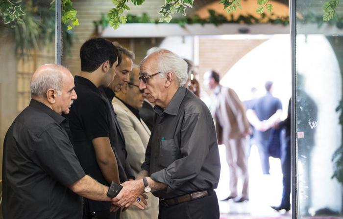 مراسم ختم بازیگران عکس جدید بازیگران خانواده داوود رشیدی بیوگرافی داوود رشیدی