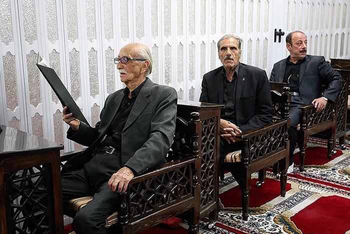 (تصاویر) یادبود داوود رشیدی در مسجد بلال