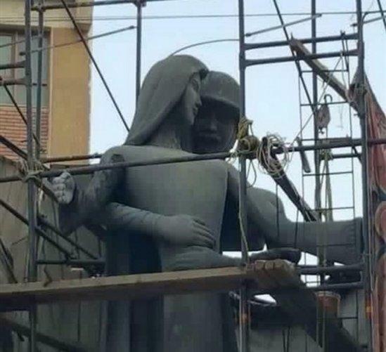 جنجال مجسمه