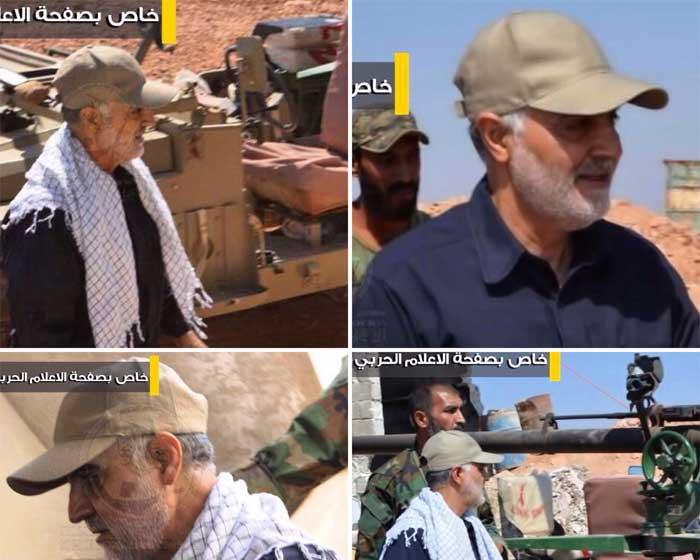 سردار سلیمانی به حلب رفت +(تصویر)