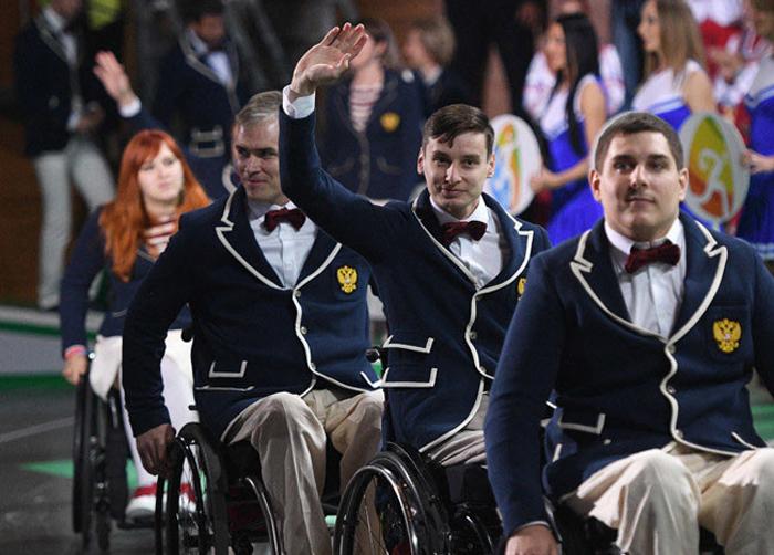 افتتاحیه بازیهای پارالمپیک در روسیه!